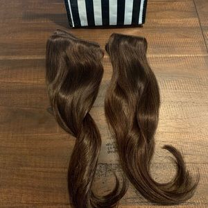 "Cashmere hair extensions 18"" Bel-Air Brunette"